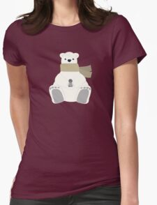 LOST Dharma Polar Bear Holidays Womens Fitted T-Shirt