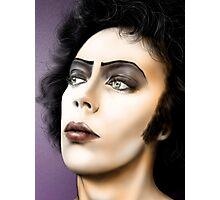 Frank-n-Furter, Tim Curry original art by Dori Hartley Photographic Print