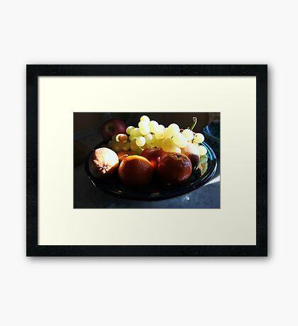 Fruit in Tuscany 2 Framed Print