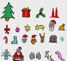xmas icons by Logan81