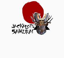 Jackalope Samurai Women's Fitted V-Neck T-Shirt