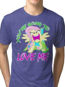 Flutterrage Tri-blend T-Shirt