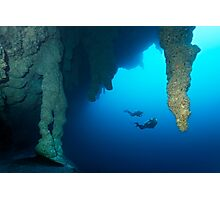 Blue Hole Belize Photographic Print