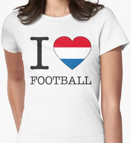I ♥ NETHERLANDS Womens Fitted T-Shirt