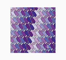 Tessellation Pattern Purple Stadiums Unisex T-Shirt