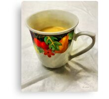 Cup Interrupted Canvas Print