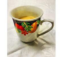 Cup Interrupted Photographic Print