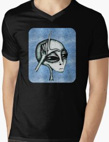 Soft Loser Alien Mens V-Neck T-Shirt