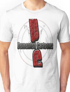 Demented Cartoons Logo Unisex T-Shirt
