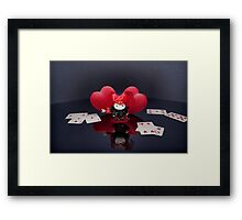 The Queen of Hearts and Mageritdoll... Framed Print