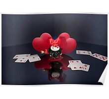 The Queen of Hearts and Mageritdoll... Poster