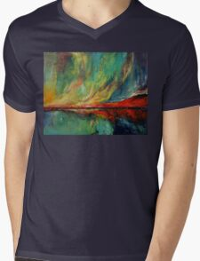Aurora Mens V-Neck T-Shirt