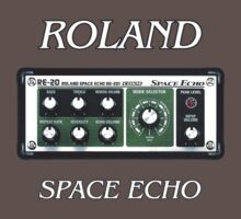 Roland Space Echo  decoration Clothing & Stickers by goodmusic