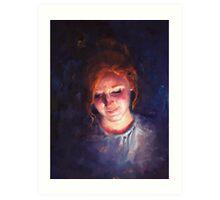 Devan Portrait Art Print