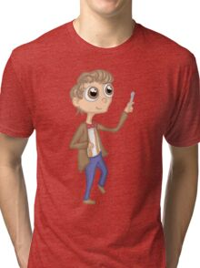 eleventh doctor cutie Tri-blend T-Shirt