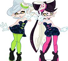 Callie and Marie by spudenski