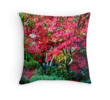 Magestic Autumn Throw Pillow