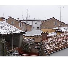from the roofs of Parma I think .....Italy ... World- VETRINA RB EXPLORE 10 DICEMBRE 2013 Photographic Print
