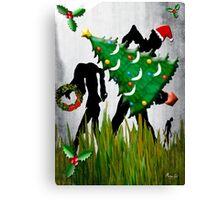 HAPPY WALKING DeadMas Canvas Print