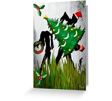 HAPPY WALKING DeadMas Greeting Card