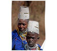 Masai Teens Poster