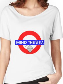 Mind the Rat Women's Relaxed Fit T-Shirt
