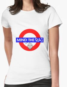 Mind the Rat Womens Fitted T-Shirt