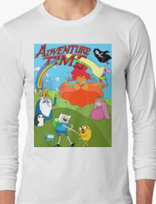 Adventure Time, fin  Long Sleeve T-Shirt