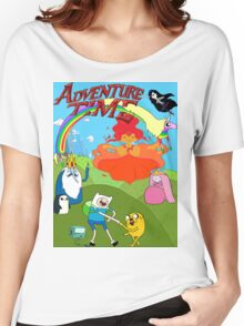 Adventure Time, fin  Women's Relaxed Fit T-Shirt