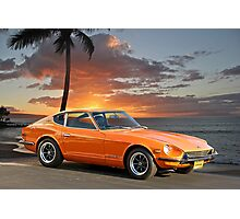 1971 Datsun 240Z 'The Legend Begins' Photographic Print