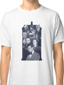All of the Doctors in the TARDIS Classic T-Shirt