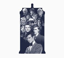 All of the Doctors in the TARDIS Unisex T-Shirt