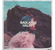 badlands album cover poster Photographic Print