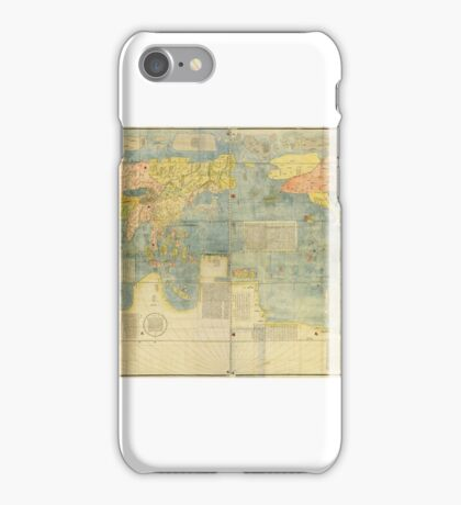 Matteo Ricci Map of the World in Chinese  iPhone Case/Skin