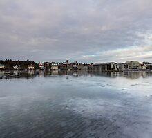 frozen town by JorunnSjofn Gudlaugsdottir