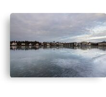 frozen town Canvas Print