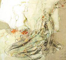 Hommage à Beardsley IX by Ute Rathmann