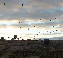 Ballooning by dannykempie