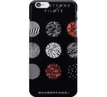 blurryface album cover poster iPhone Case/Skin