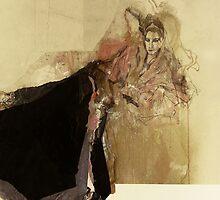 Hommage à Botticelli IX by Ute Rathmann