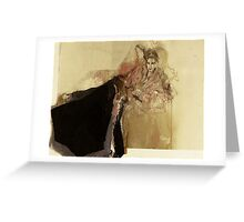 Hommage à Botticelli IX Greeting Card