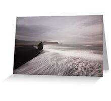 texture waves Greeting Card