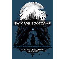 Batcave Bootcamp (Blue) Photographic Print