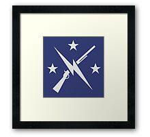 The Minutemen Framed Print