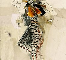 Hommage à Toulouse-Lautrec II by Ute Rathmann