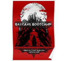 Batcave Bootcamp (Red) Poster
