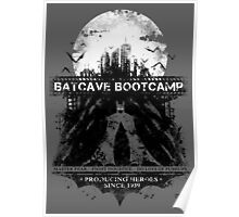 Batcave Bootcamp (Gray) Poster