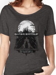 Batcave Bootcamp (Dark) Women's Relaxed Fit T-Shirt
