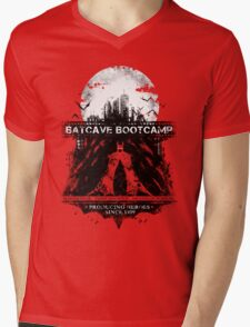 Batcave Bootcamp (Dark) Mens V-Neck T-Shirt