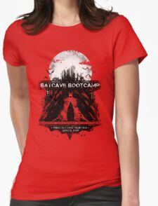 Batcave Bootcamp (Dark) Womens Fitted T-Shirt